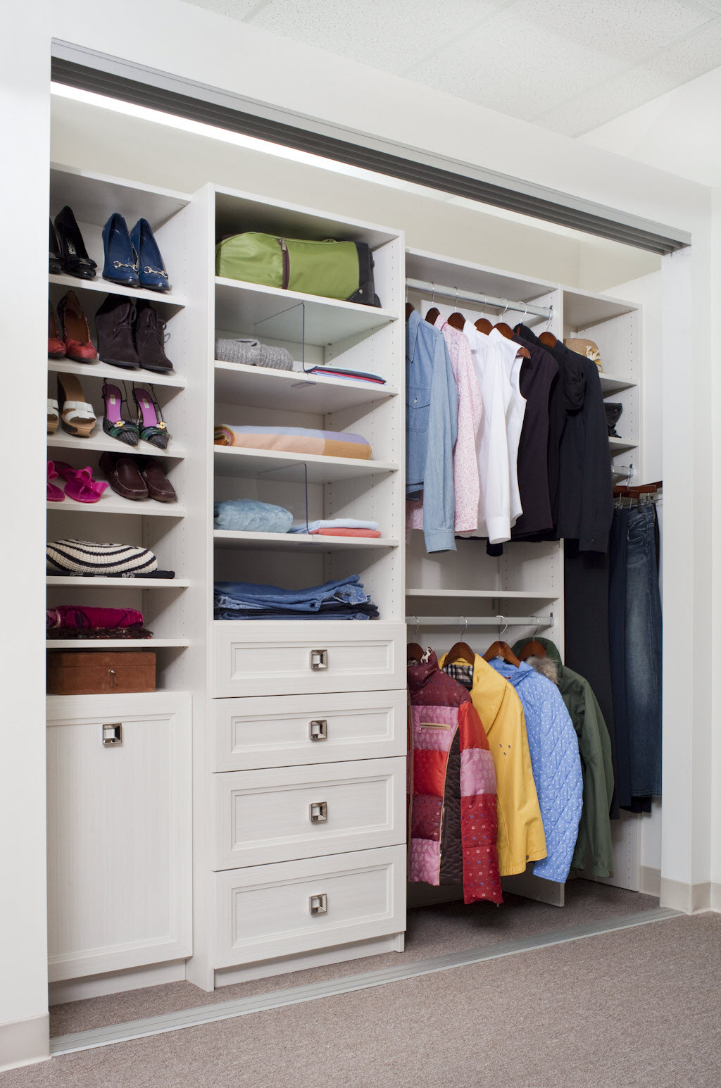Reach In Closet Organization Ideas Part - 50: Organization Closet