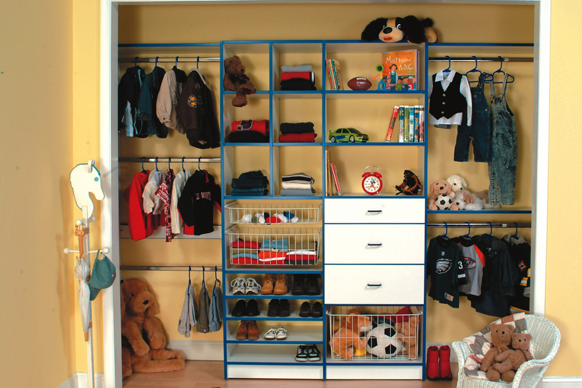 Kids Reach-In Closet - Woburn Mass